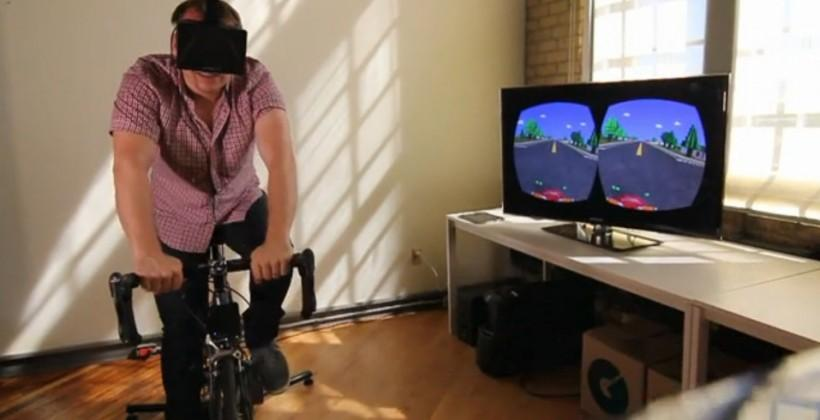 Oculus Rift hack brings Paperboy to the 21st century