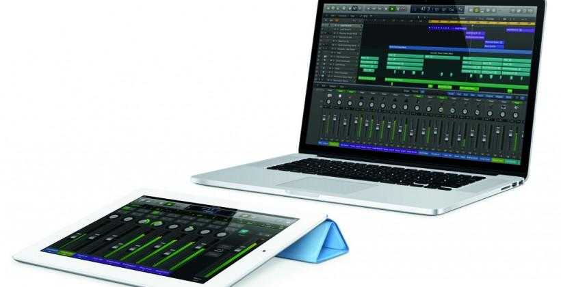Apple Logic Pro X released with Logic Remote iPad controller
