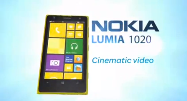 AT&T Nokia Lumia 1020 PureView confirmed in video goof