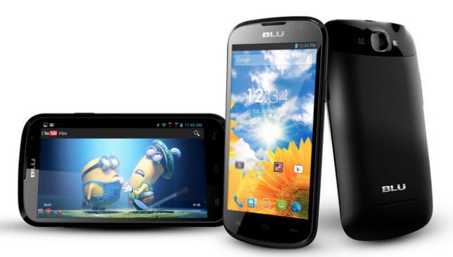BLU Dash 4.5 unlocked dual-SIM quad-core smartphone now available