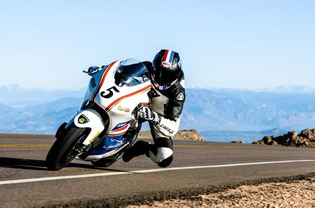 Electric motorcycle beats gas-guzzling rivals at Pikes Peak