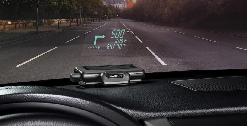 Garmin HUD offers head-up display directions from your smartphone