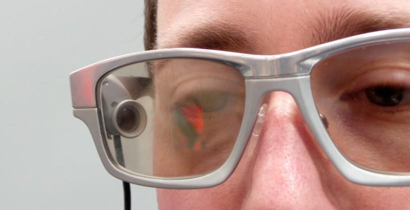 GlassUP wearable display takes on Google Glass