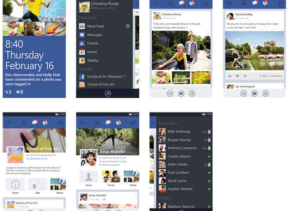 Facebook app for Windows Phone 8 out of beta