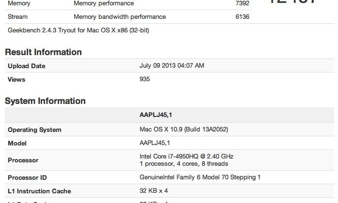 MacBook Pro reboot appears in benchmarks for 13 and 15-inch iterations