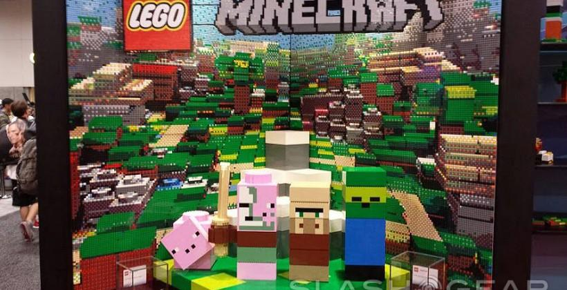 """LEGO Minecraft Sets """"Nether"""" and """"Village"""" appear at SDCC"""