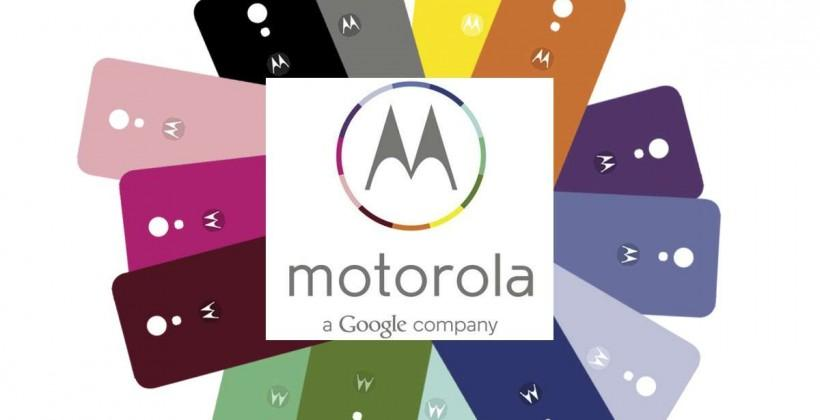 Moto X and the colorful customization of Motorola, a Google company