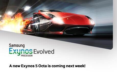 Samsung Exynos 5 Octa update teased (in time for the Galaxy Note III)