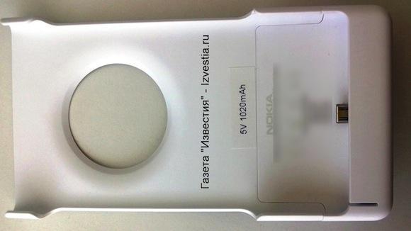 Nokia EOS/Lumia 1020 battery-case accessory caught in wild