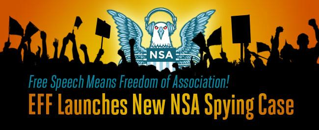 NSA sued by coalition headed by EFF over US-based telephone surveillance