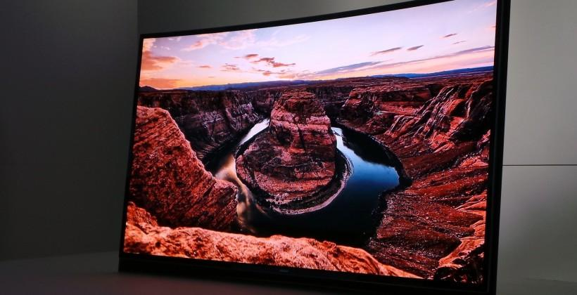 Samsung curved OLED TV arriving in the US after Korean release