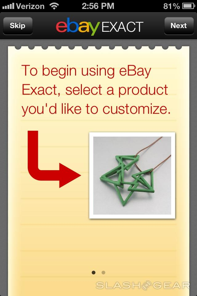 eBay Exact arrives for customizable, 3D-printed products