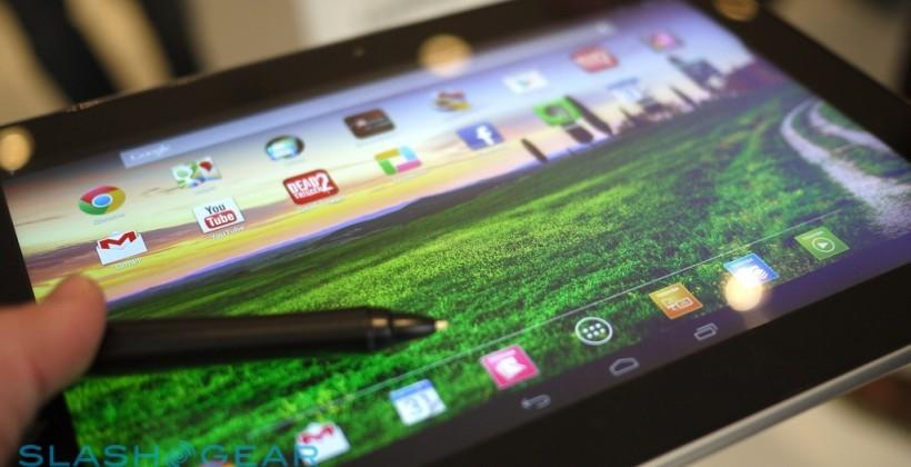 Toshiba Excite Pro aims to be first NVIDIA Tegra 4 tablet to market [UPDATE]