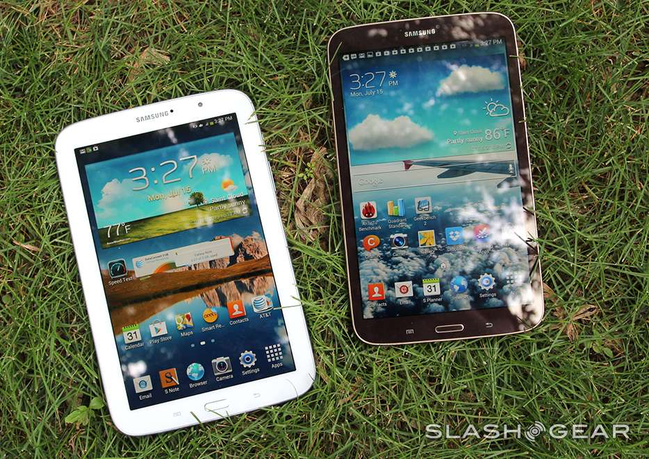 Samsung Galaxy Note 8 0 vs Galaxy Tab 3 8 0: not just an S
