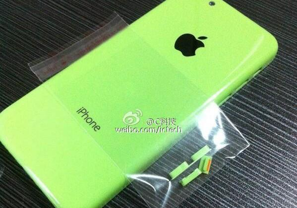 Another look at the green iPhone
