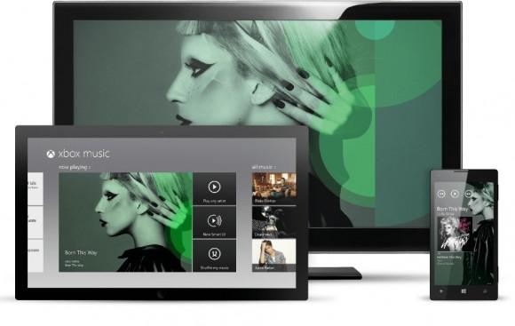 Xbox Music web player launches