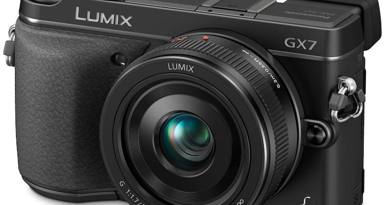 Panasonic Lumix GX7 16MP DSLM camera introduced with 1080p recording
