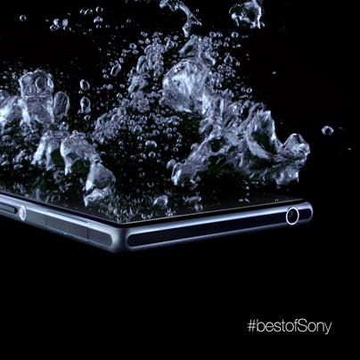 "Sony Xperia i1 ""Honami"" waterproof teaser whets our appetites"