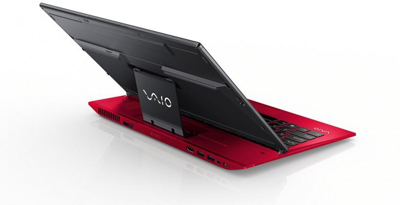 Sony VAIO Red Fit 15, Pro 13, and Duo 13 slider get official (and officially bright)