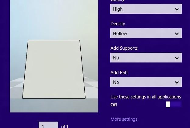 3D Printing support for Windows 8.1 solidified: as easy as paper