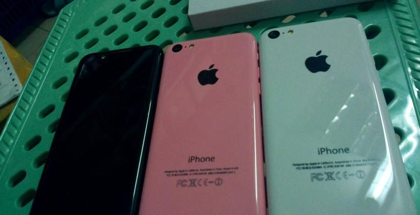iPhone 5S and pink 5C aim to prove falsehood of early leaks