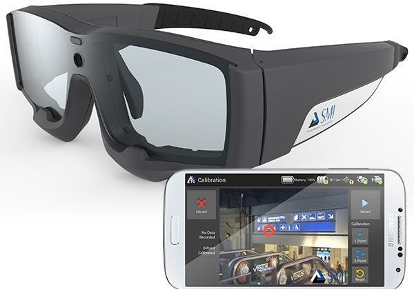 SMI Eye Tracking Glasses 2.0 will record to a smartphone