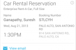 Google Now updates with car rentals, concert tickets, and more