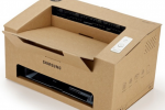 Samsung Origami cardboard printer is an assemble-yourself eco friendly concept