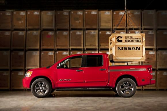Nissan to Equip Next-Generation Titan Pickup with New Cummins Tu