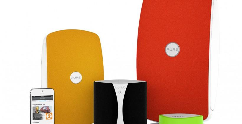 Pure Jongo T6 and T2 expand Sonos-rival range