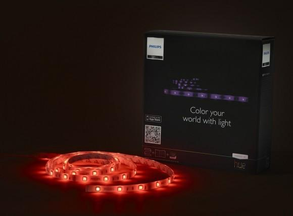LightStrip product and packaging - black background