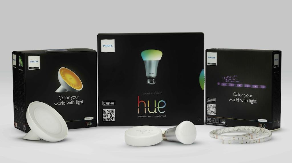philips hue lightstrips and livingcolors bloom add to wireless bulb family slashgear. Black Bedroom Furniture Sets. Home Design Ideas