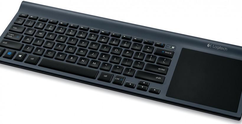 Logitech Wireless All-in-One Keyboard TK820 arrives with built-in trackpad