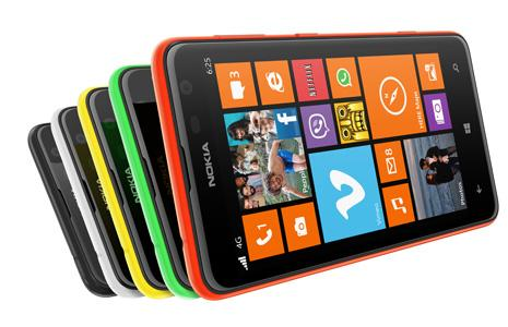 Nokia Lumia 625 arriving in the UK later this month
