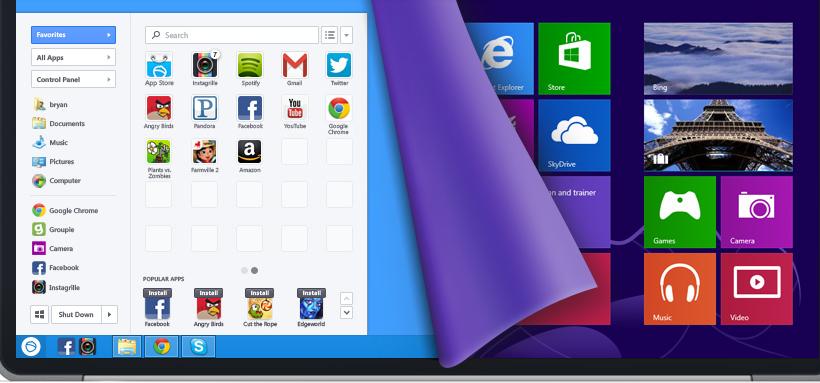 Lenovo to start bundling Windows 8 Start menu replacement Pokki