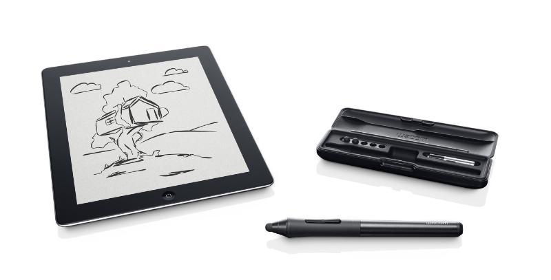 Wacom Intuos Creative Stylus offers pressure-sensitive drawing for the iPad