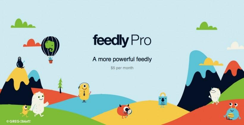Feedly Pro arrives with search, Evernote support, and more