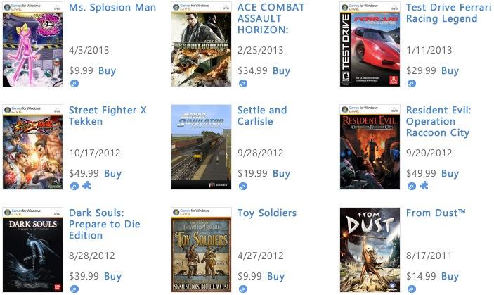 Games for Windows Live marketplace closing next week