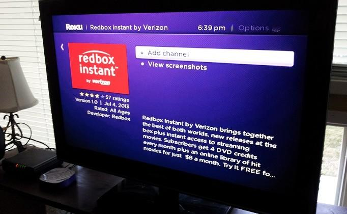 Roku players and Streaming Stick gain Redbox Instant support