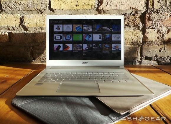 Acer S7 Ultrabook reboot brings Haswell, battery life, and a new keyboard