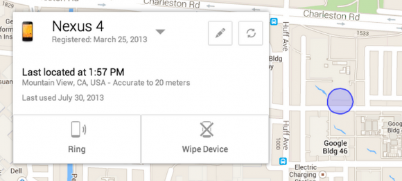 Android Device Manager goes live for rogue phones and tablets