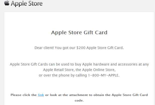 Apple Store gift card scam bypasses phishing for all-out malware exploits