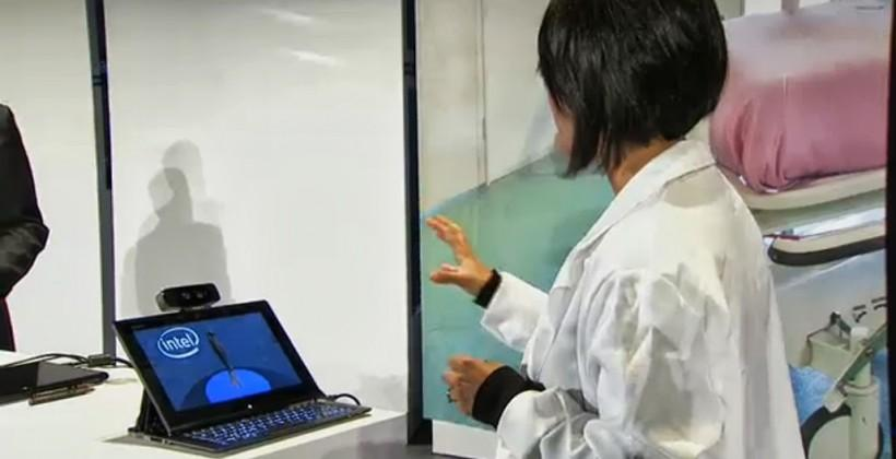 Intel elaborates on depth camera tech: Ultrabook and tablet integration in 2014