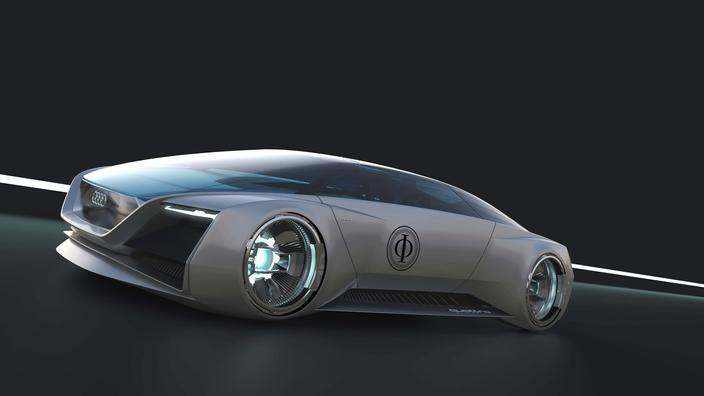 Audi Ender's Game concept car is a virtual star