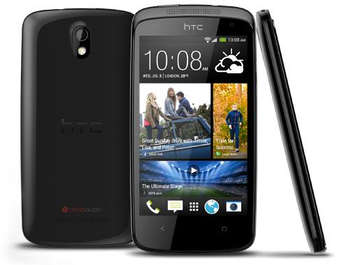 HTC Desire 500 arrives in the UK after initial Taiwanese launch