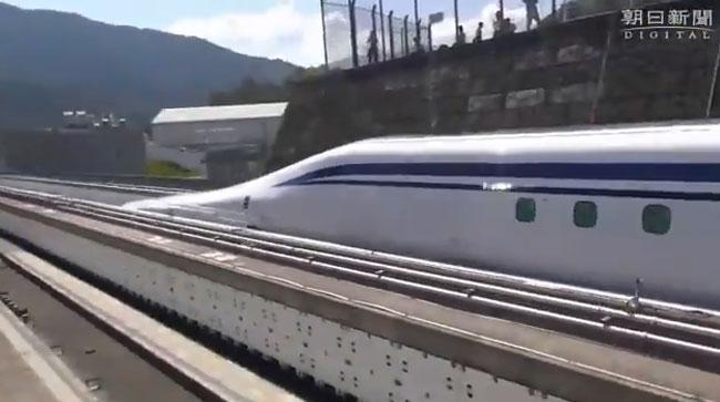 World's fastest train resumes testing in Japan