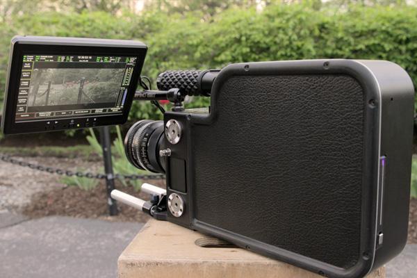 Black Betty 2K camera houses Mac Mini for all-in-one studio setup