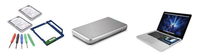 OWC Data Doubler adds 3 TB of storage to your MacBook