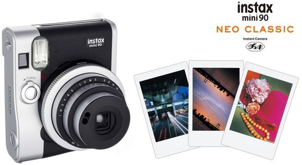"Fujifilm Instax mini 90 sports ""Neo Classic"" retro design"