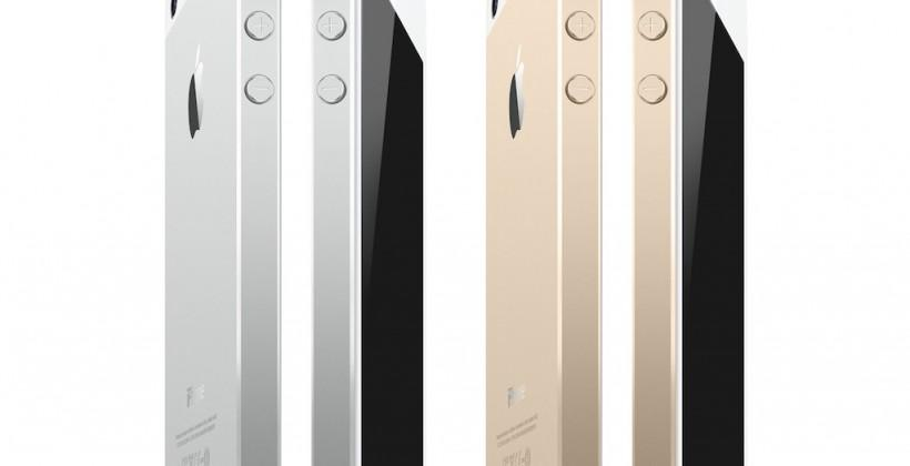 Gold iPhone 5S looks a September 10 lock-in